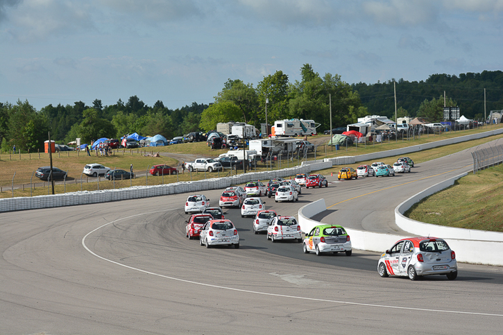 Coupe Nissan Micra Cup en photos, 7-10 JUILLET | CANADIAN TIRE MOTORSPORT PARK, ON - 13-170623132206