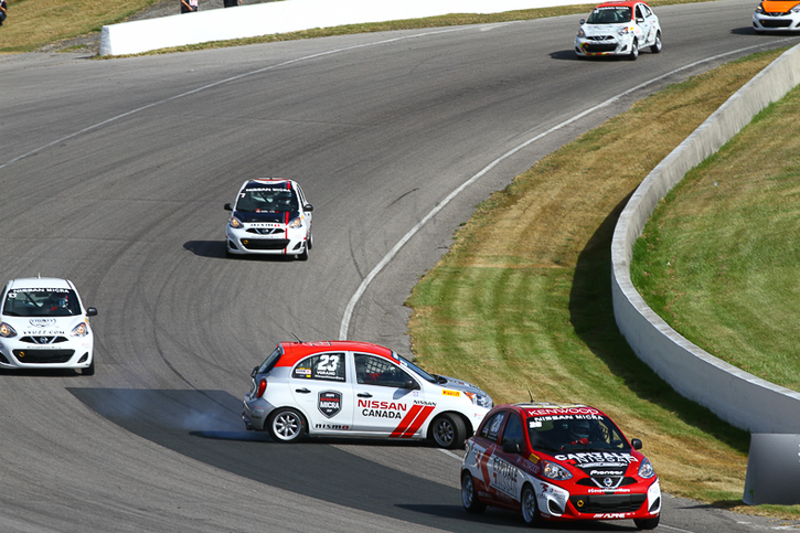 Coupe Nissan Micra Cup en photos, 7-10 JUILLET | CANADIAN TIRE MOTORSPORT PARK, ON - 13-1706231322070